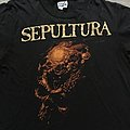 Sepultura Beneath the Remains 1989 Tourshirt