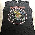 Iron Maiden - TShirt or Longsleeve - Iron Maiden World Piece Tour Muscleshirt 1983