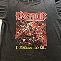 Kreator - TShirt or Longsleeve - Kreator Pleasure to Kill 1986 US Version
