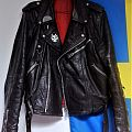 Swedish style leather jacket