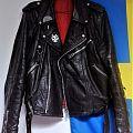 Swedish style leather jacket