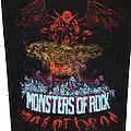 Motorhead Monsters of Rock vintage back patch