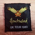 Hawkwind - Patch - Wanted - Hawkwind Tour Patch 1980