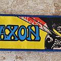SAXON vintage patches