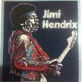 JIMI HENDRIX patch. vintage. original.