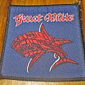 GREAT WHITE vintage patch 1980s