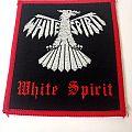 WHITE SPIRIT vintage patch