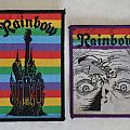 VINTAGE Rainbow patches