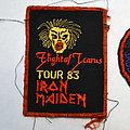 Iron Maiden - Patch - Vintage Iron maiden Tour patch 1983