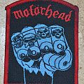 Original VINTAGE MOTORHEAD Iron fist patch