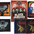 BLACK SABBATH patches, vintage and new