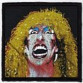 Twisted Sister printed patch / Dee Snider