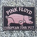 Pink Floyd - Patch - Pink Floyd 1977 tour patch