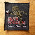 Iron Maiden - Patch - Iron Maiden Killer Tour 1981 patch