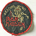 VINTAGE IRON MAIDEN - Reading 1980 concert patch !!!