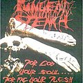 PUNGENT STENCH-For God your Soul....for me your Flesh T-shirt,1990 original,old version