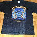 gamma ray tour shirt 1997 official