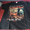 Exhumed gore metal shirt