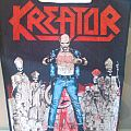 """Kreator - Patch - Kreator """" Terrible certainty """" vintage Backpatch"""