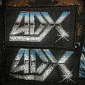 Comparison of 2 original versions old logo ADX Patch