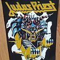 """Patch - Judas Priest """"Defender of the faith"""" Original Backpatch 80"""""""