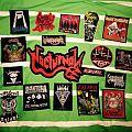 Venom, Vampire, Watain, Nocturnal, Cauldron, Exumer, Living Death patches