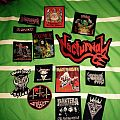 Nocturnal, Slayer, Exuner, Venom, Iron Maiden patch