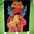 Black Sabbath - Patch - Black Sabbath backpatch