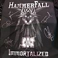 HammerFall signed Backpatch