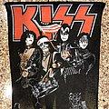 Kiss - Patch - KISS 1976 Back Patch
