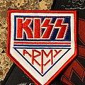 Kiss - Patch - KISS Army White Patch