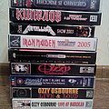 Classic ROCK/METAL VHS tapes