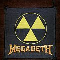 Megadeth - Nuclear Radiation Symbol Patch