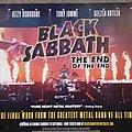 Black Sabbath End of the End promo poster
