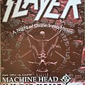 Slayer - Other Collectable - Slayer tour poster