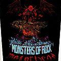 Motorhead - Monsters Of Rock Backpatch