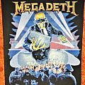 Megadeth Berlin Wall Backpatch