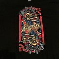 Anthrax Tour T shirt 2018