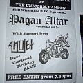 Pagan Altar - free show @The Unicorn 2013 Other Collectable