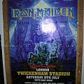 Iron Maiden - Somewhere Back in Time 2008 tour poster Other Collectable