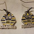 Iron Maiden Powerslave earrings Other Collectable