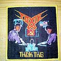Toxik - Think This yellow border patch