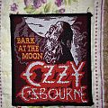 Ozzy Osbourne - Bark at the moon vintage patch