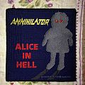 Annihilator- Alice in hell vintage patch