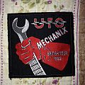 U.F.O - mechanix vintage patch