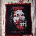 Anthrax - Fistful of metal patch