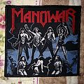 Manowar - Fighting the world vintage patch