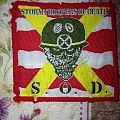 S.O.D (StormTroppers Of Death) Vintage patch