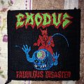 Exodus - Fabulous disaster vintage patch