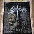 Sodom - better off dead vintage patch